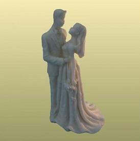Шоколадные фигурки на свадьбу