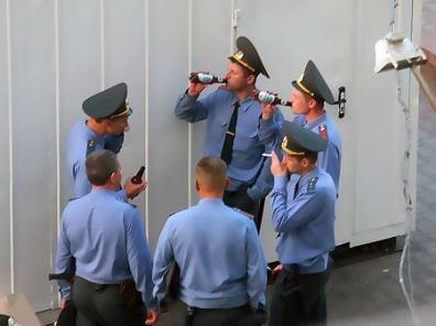 Правонарушения милиционеров