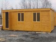 Цены деревянных бытовок