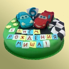 Детский торт Маквин