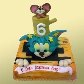Торт для мальчика 6 лет