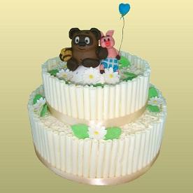 Детские торты на 2 года