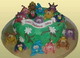 Необычный торт для мальчика