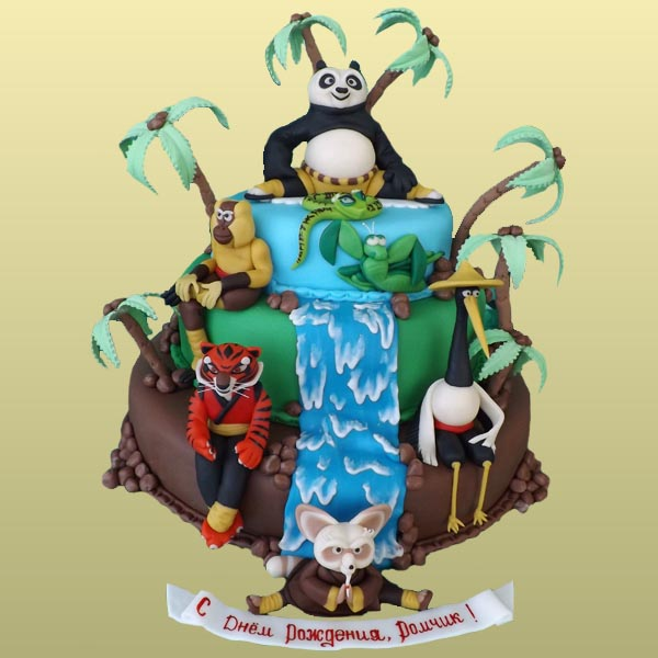Самые красивые торты для детей