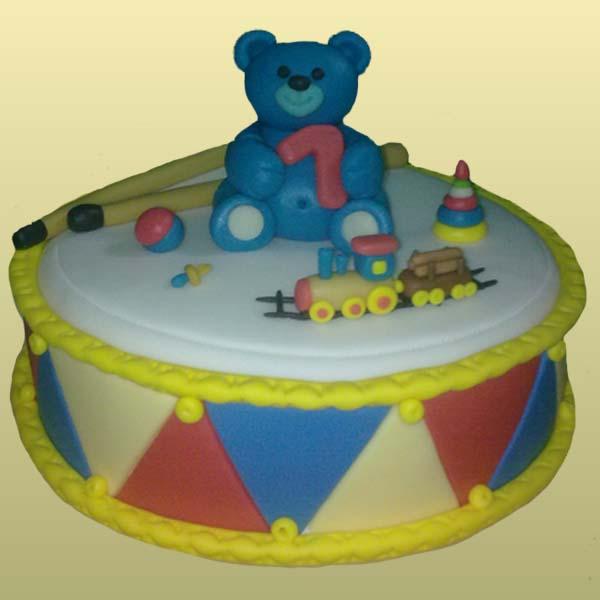 Бисквитный торт для ребенка