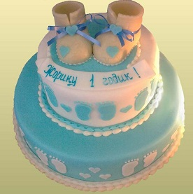 Заказать детский торт на годик