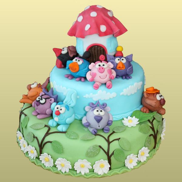 Как сделать торт «машина» пошагово