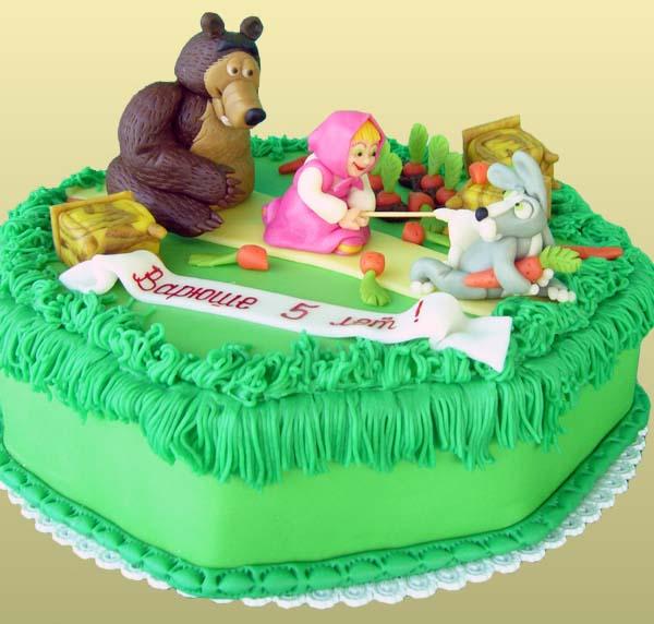 Торт ребенку на 5 лет