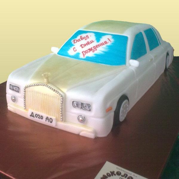 Детский торт лимузин