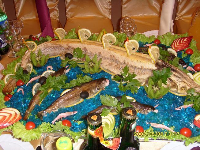 банкетные блюда из рыбы