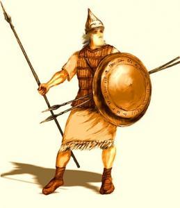 Армянский воин