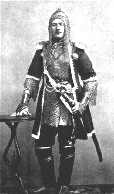 Черкесский воин