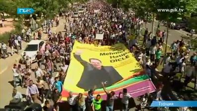 Курдская демонстрация
