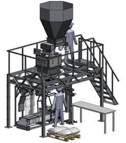 Аппарат для фасовки цемента
