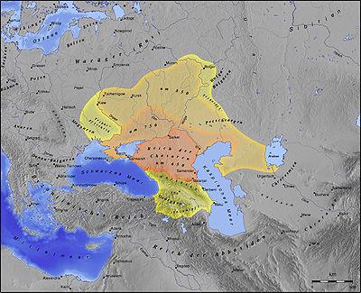 Карта Волжской Булгарии