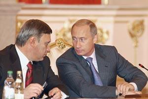 Путин и Касьянов