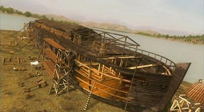 Внешний вид Ноева ковчега