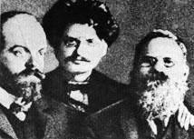 Гельфанд, Троцкий и Дейч
