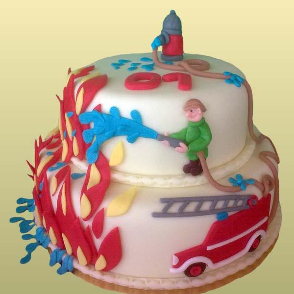 Торт бело-синий на свадьбу фото 5