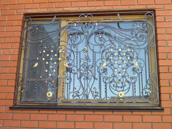 Кованые решетки на окна, балконы