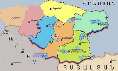 Карта Джавахка