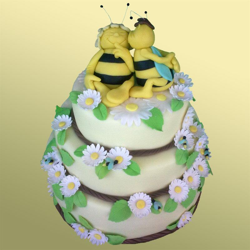Свадебный торт недорого