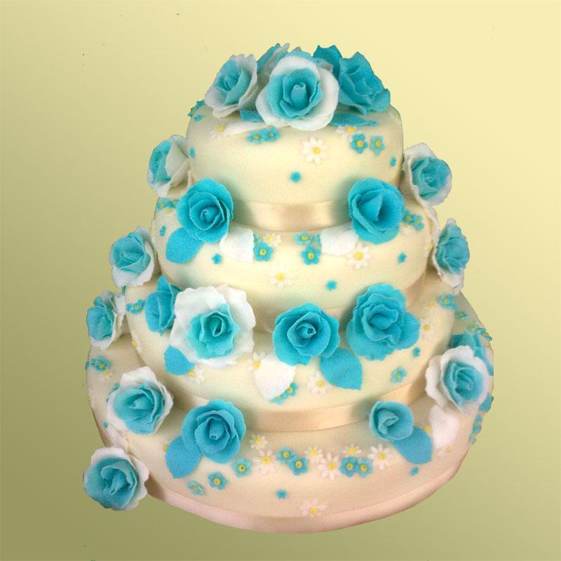 Торт мастикой для детей свадебный