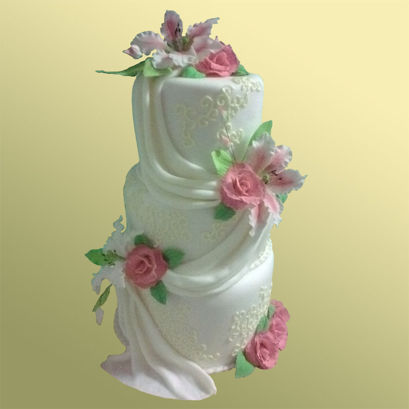 Свадебный торт заказать