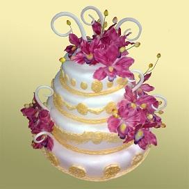 Заказать шикарный свадебный торт