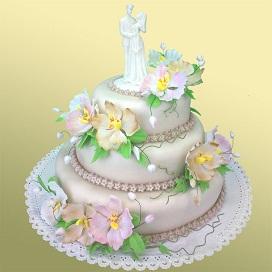 Очень красивый торт в Москве