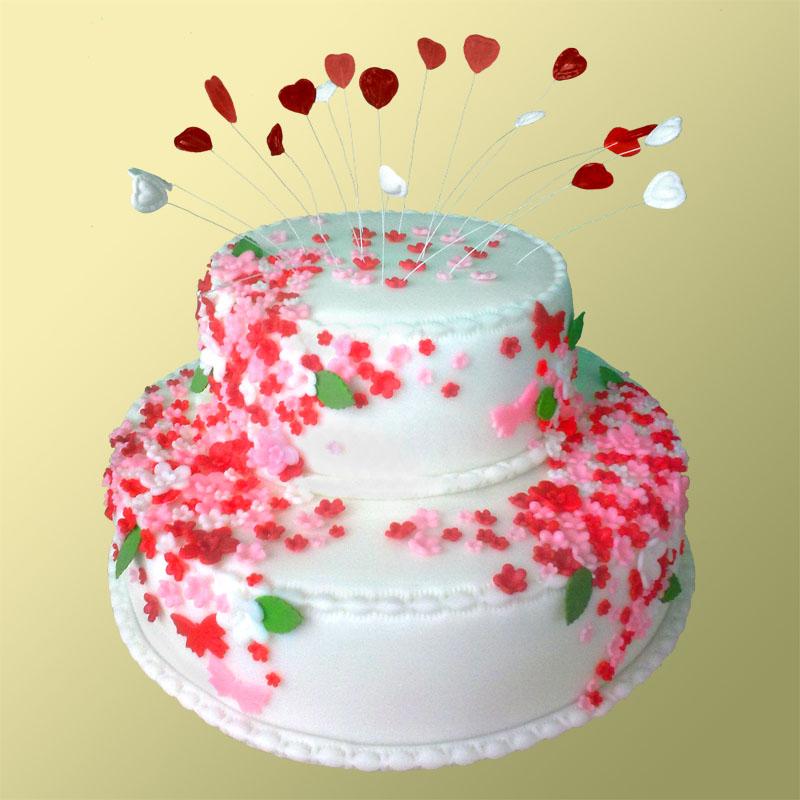 Торт свадебный купить в москве