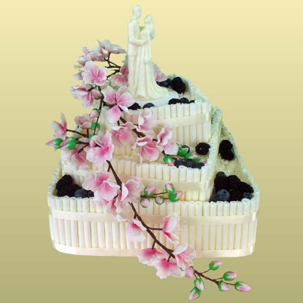 Фото свадебного торта