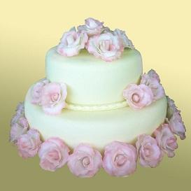 Изысканные свадебные торты