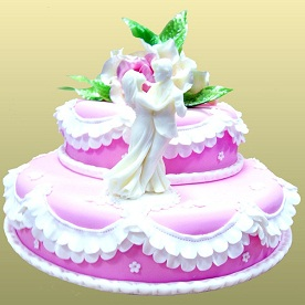 Свадебные торты на заказ 2015