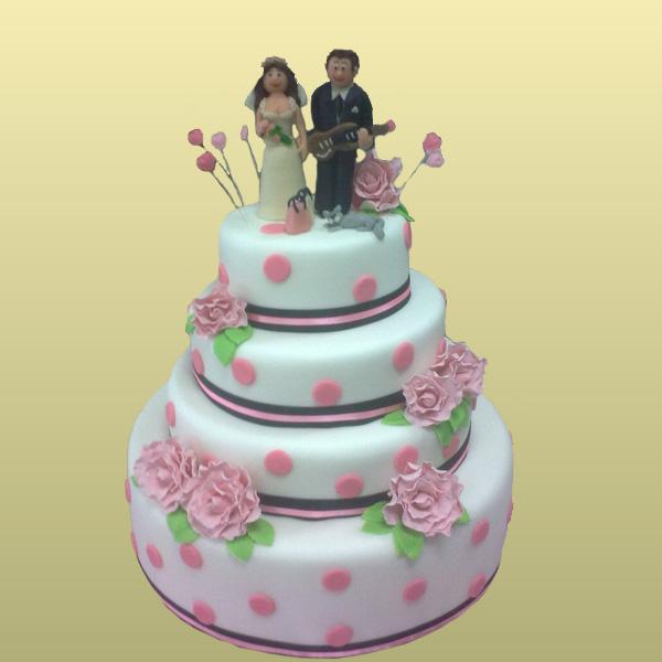Фото тортов на свадьбу 2015
