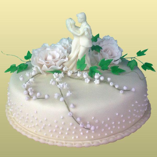 Свадебные торты с фото 2015