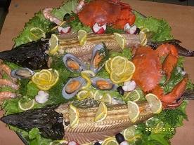 Доставка рыбных блюд