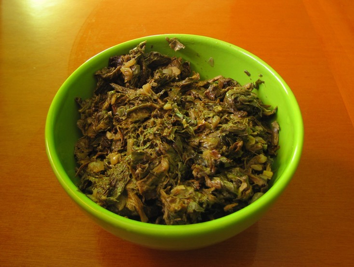 Оригинальный рецепт салата из овощей