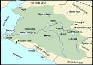 Кубань на турецкой карте