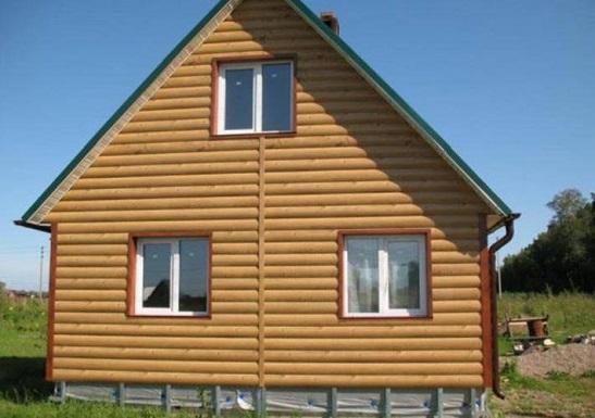 Блок-хаус из дерева хвойных пород