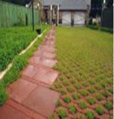 Укладка тротуарной плитки гидрорешетка