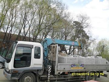 Спецтехника напрокат - аренда грузовика Исузу