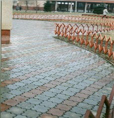 Тротуарная плитка в Москве