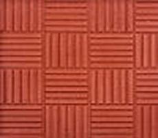 Квадратный метр тротуарной плитки