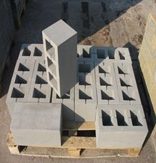 Пустотелые стеновые блоки